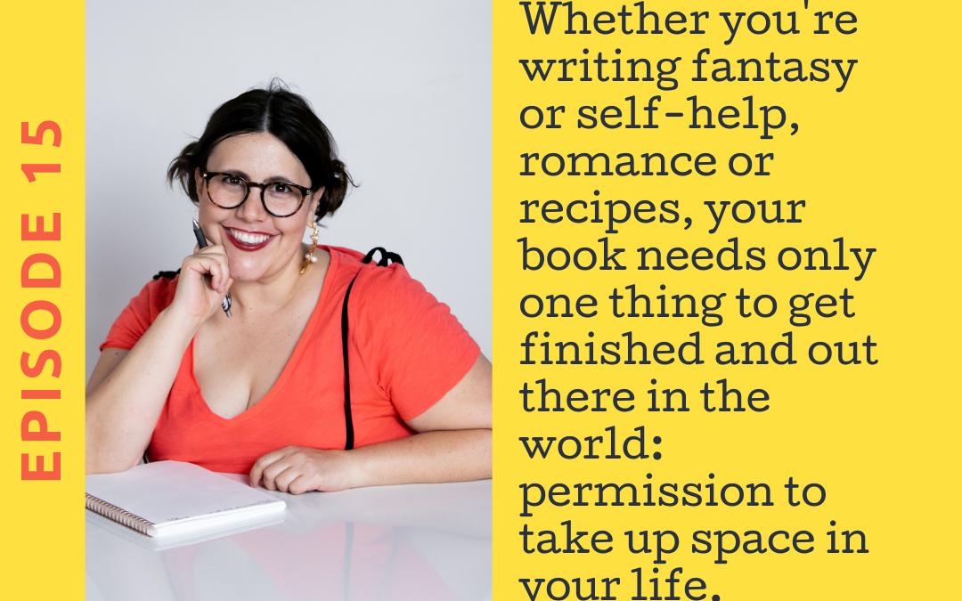 Ep. 15 Creating a Writing Ritual For Yourself