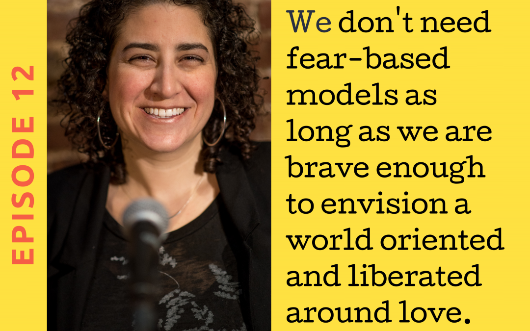 Ep. 12 Writing as a Bridge Between Political Oppositions with Caroline Rothstein